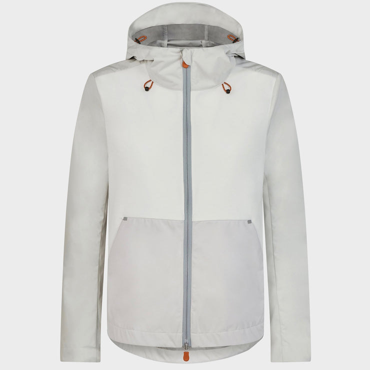Women's Hooded Jacket - Coconut White - The Grinning Goat