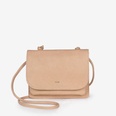 Madison Carry-All Crossbody - Nude