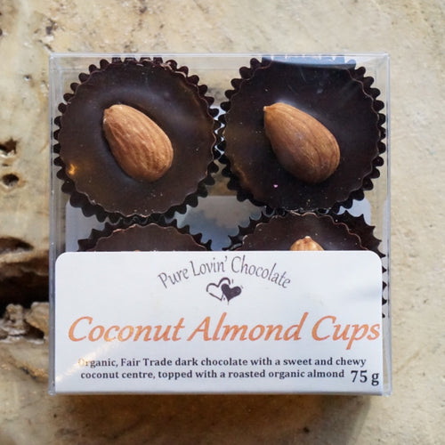 4pc Coconut Almond Cups