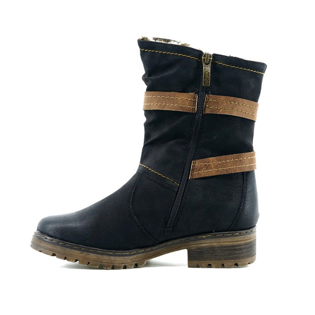 Kimberly Boot - Black - The Grinning Goat