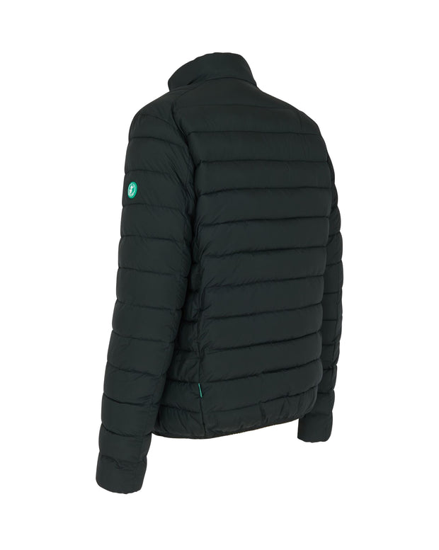 Men's Quilted Jacket - Green Black (RECY) - The Grinning Goat