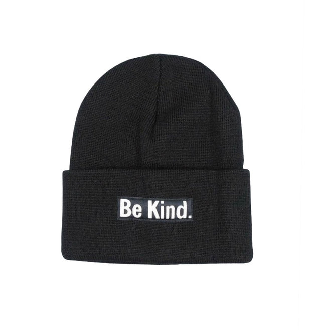 Be Kind Cuffed Beanie - The Grinning Goat