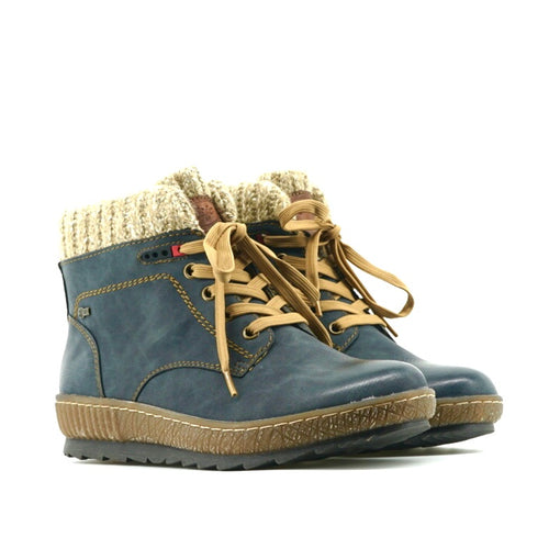 Katie Boots - Denim Blue - The Grinning Goat