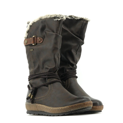Neva Boot - Dark Brown - The Grinning Goat
