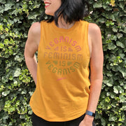 Veganism Is Feminism Women's Tank