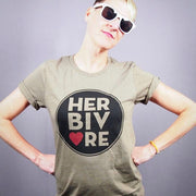 Herbivore Circle Unisex Tee - The Grinning Goat