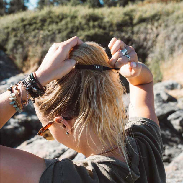 Organic Hair Ties - Black