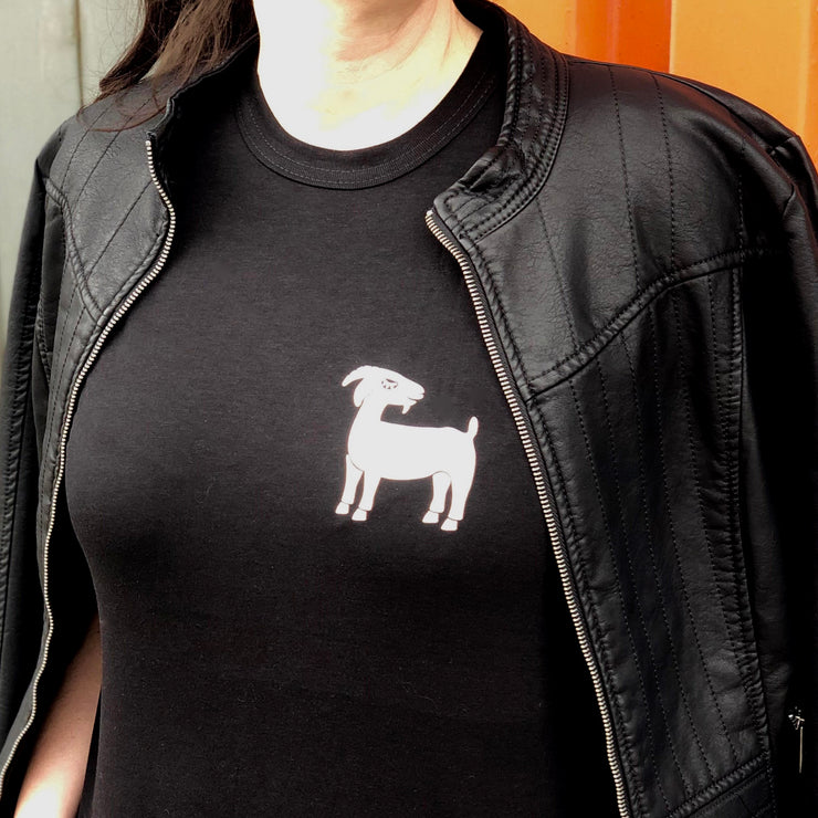 Grinning Goat Pocket Tee - Unisex Bamboo & Organic Cotton - The Grinning Goat