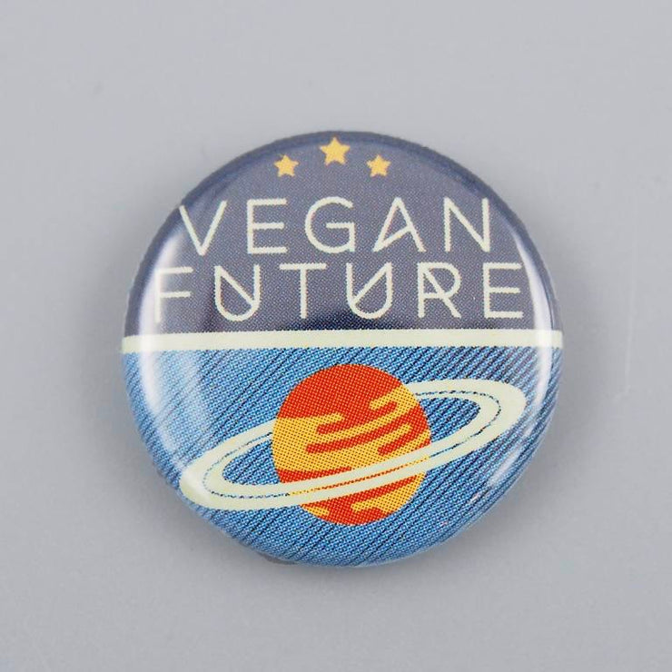 Vegan Future Button - The Grinning Goat