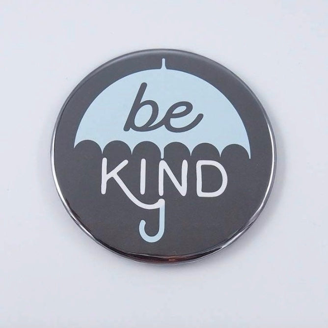 "3"" Be Kind Umbrella Magnet - The Grinning Goat"