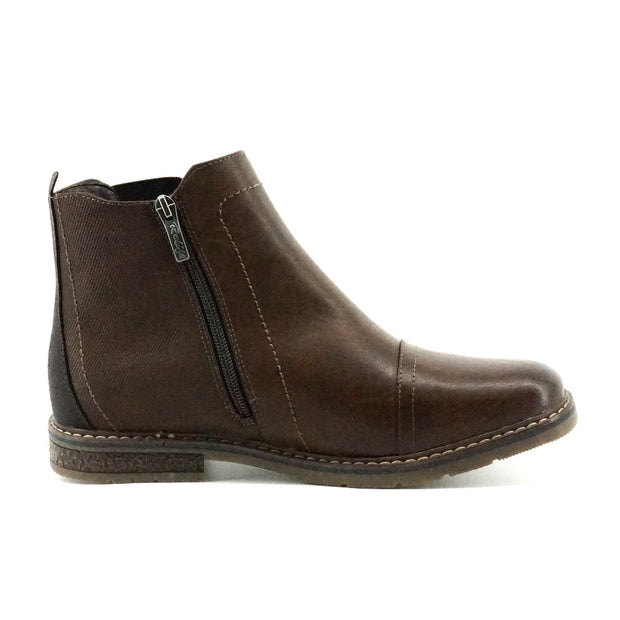 Vaughan Winter Chelsea Boot - Dk Brown