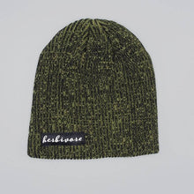 Herbivore Scripty Beanie - Green Marble - The Grinning Goat