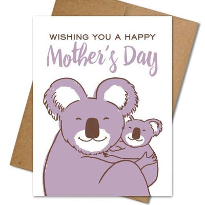 Koala Mom Card - The Grinning Goat