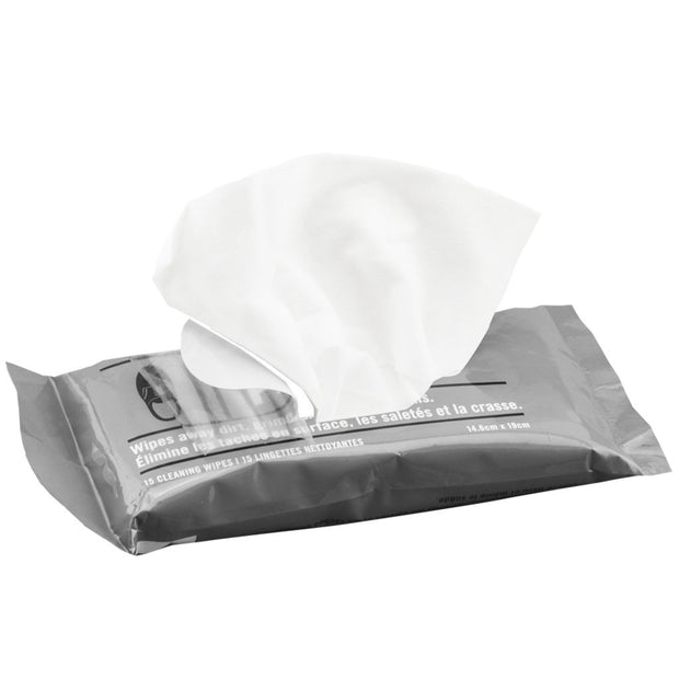 Shoe Rescue Wipes - Resealable Pack of 15