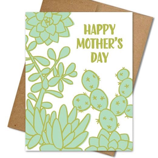 Succulents for Mom Card