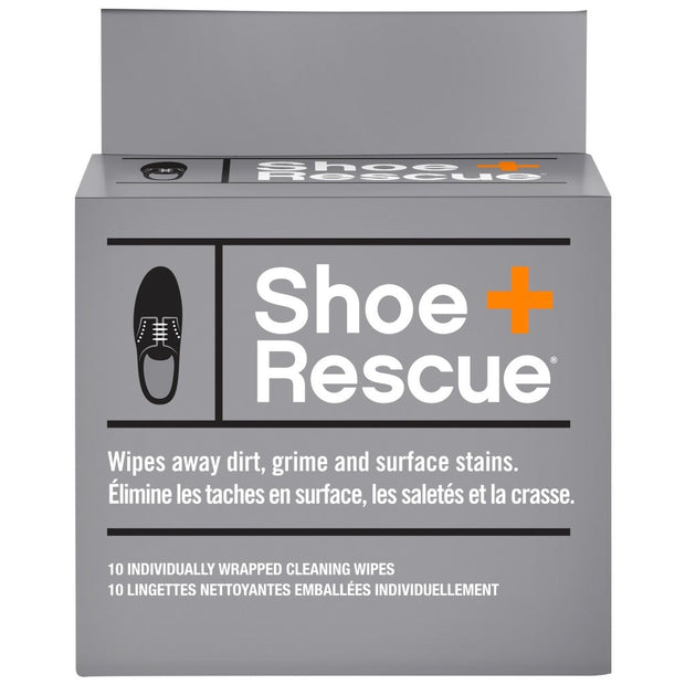Shoe Rescue Wipes - Box of 10