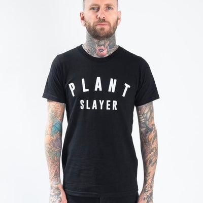 Plant Slayer Tee - The Grinning Goat