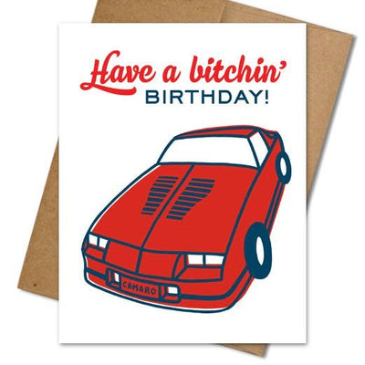 Bitchin' Birthday Card - The Grinning Goat