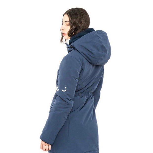 Doe Parka - Great Lake Blue - The Grinning Goat