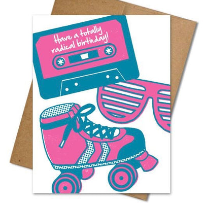 Radical Birthday Card - The Grinning Goat