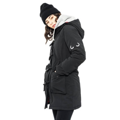 Doe Parka - Moonlit Black - The Grinning Goat
