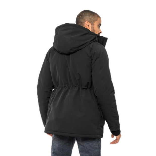 Elk Parka - Moonlit Black - The Grinning Goat