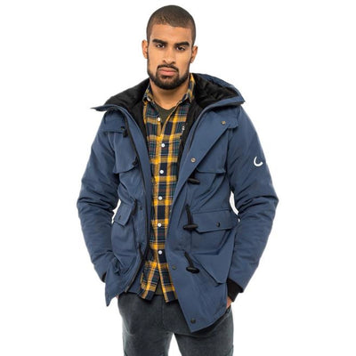 Elk Parka - Great Lake Blue - The Grinning Goat