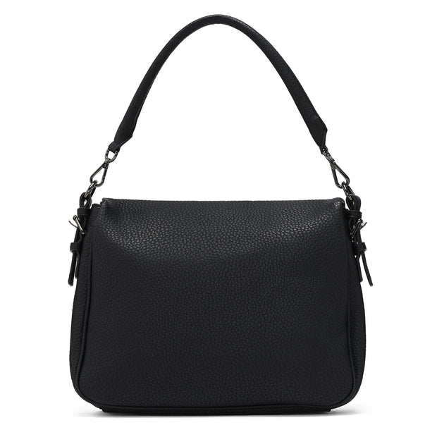 Pebble Flap Messenger - Black