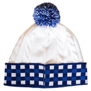 Wuxly Squirrel Toque - Blue Plaid