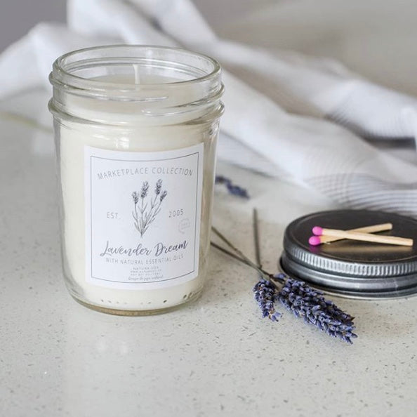 Lavender Dream Marketplace Jar - The Grinning Goat