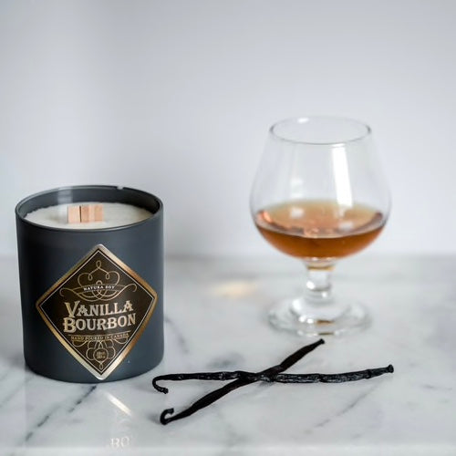 Vanilla Bourbon Man Candle - The Grinning Goat