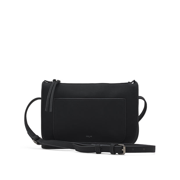 Crafted Crossbody - Black - The Grinning Goat