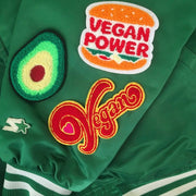 Vegan Heart Chenille Patch - The Grinning Goat