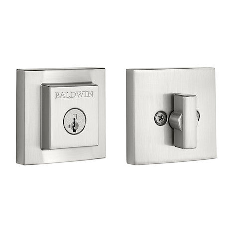 Baldwin Prestige Single Cylinder Square Deadbolt Collection