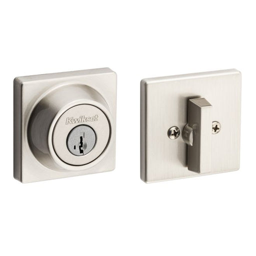 Kwikset 660SQT Single Cylinder Square Deadbolt Collection