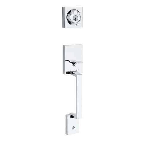 Kwikset Amador Handleset - Polished Chrome Collection