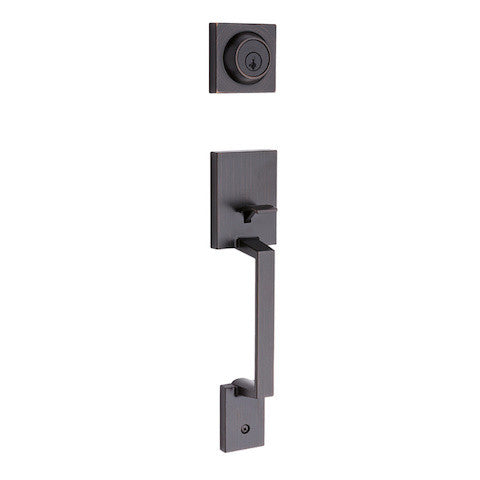 Kwikset Amador Handleset - Venetian Bronze Collection