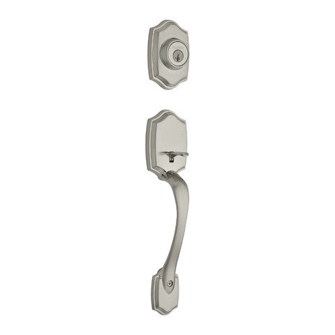 Kwikset Belleview Handleset - Satin Nickel Collection