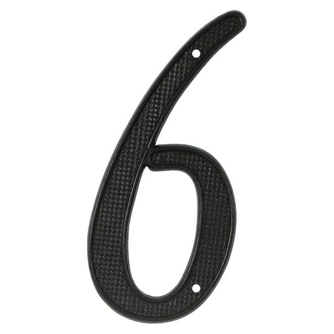 "4"" House Numbers - Black"