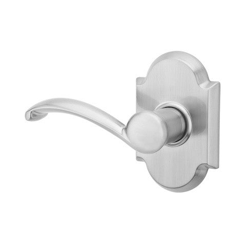 Kwikset Shelburne Single Cylinder Handleset - Satin Nickel Collection