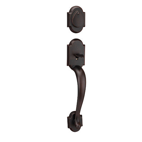 Kwikset Austin Single Cylinder Handleset - Venetian Bronze Collection