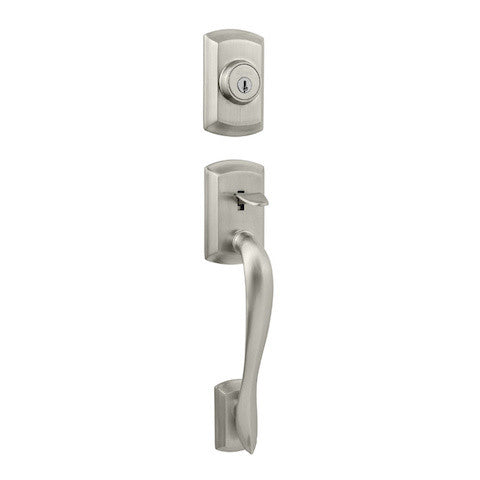 Kwikset Avalon Single Cylinder Handleset - Satin Nickel Collection