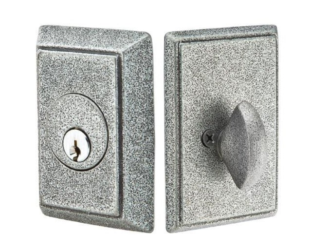 Emtek Wrought Steel #3 Single Cylinder Deadbolt
