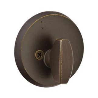 Emtek #2 Sandcast Bronze Patio Single Sided Deadbolt