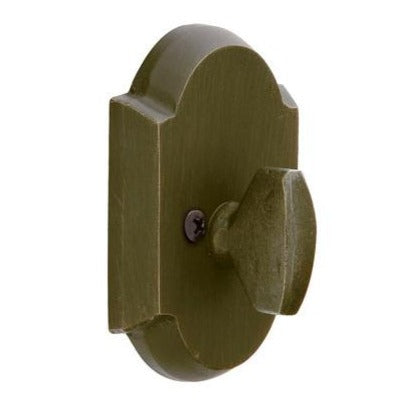 Emtek #1 Sandcast Bronze Patio Single Sided Deadbolt