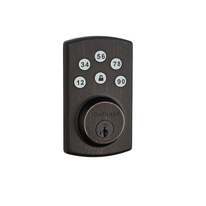 Kwikset 907 Keyless Entry Deadbolt Venetian Bronze