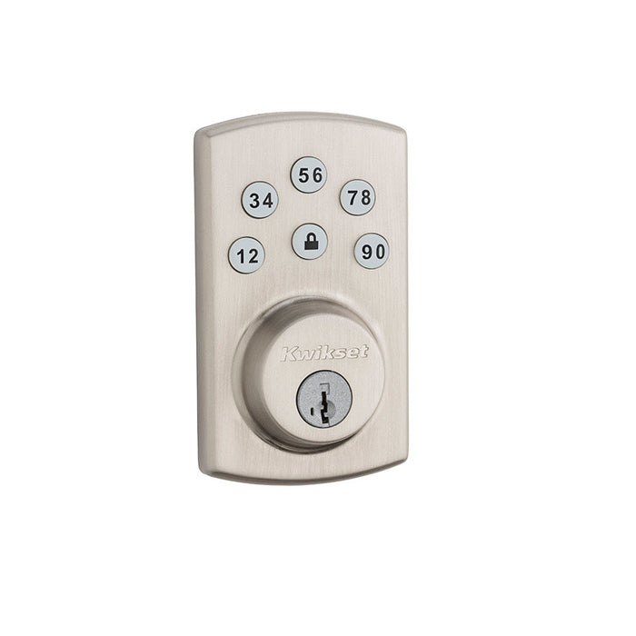 Kwikset 907 Keyless Entry Deadbolt Satin Nickel