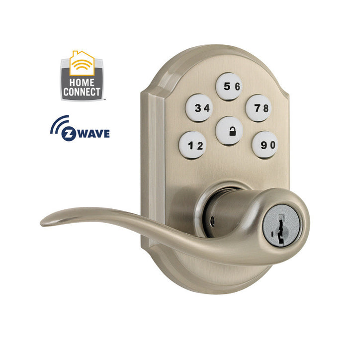 Kwikset 912TNL SmartCode Lever with Z-Wave Technology