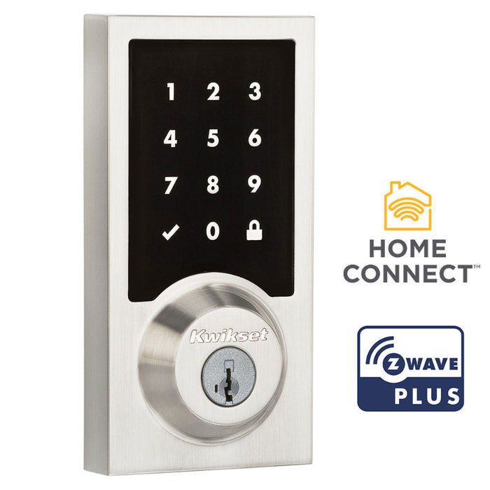 Kwikset 916 Contemporary Smart Code Deadbolt with Z-Wave Technology