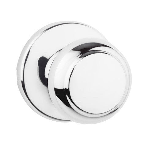 Kwikset Chelsea Single Cylinder Handleset - Polished Chrome Collection